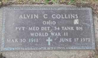 COLLINS, ALVIN C - Portage County, Ohio | ALVIN C COLLINS - Ohio Gravestone Photos
