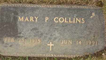 COLLINS, MARY P - Portage County, Ohio | MARY P COLLINS - Ohio Gravestone Photos