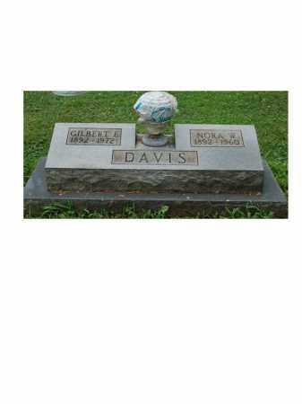 WERTENBERGER DAVIS, NORA W. - Portage County, Ohio | NORA W. WERTENBERGER DAVIS - Ohio Gravestone Photos