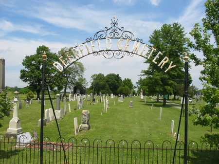 DEERFIELD, CEMETERY VIEW - Portage County, Ohio | CEMETERY VIEW DEERFIELD - Ohio Gravestone Photos