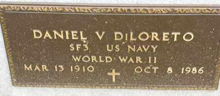 DILORETO, DANIEL V - Portage County, Ohio | DANIEL V DILORETO - Ohio Gravestone Photos