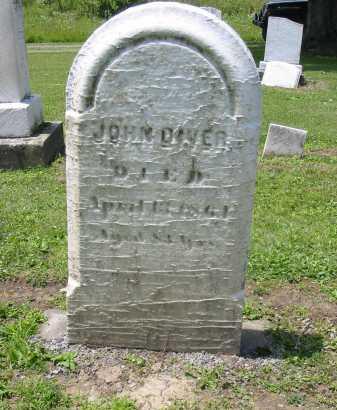DIVER, JOHN - Portage County, Ohio | JOHN DIVER - Ohio Gravestone Photos