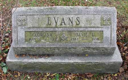 EVANS, GEORGINA - Portage County, Ohio | GEORGINA EVANS - Ohio Gravestone Photos
