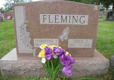 FLEMING, ERNEST E - Portage County, Ohio | ERNEST E FLEMING - Ohio Gravestone Photos