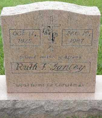 GANLEY, RUTH F - Portage County, Ohio | RUTH F GANLEY - Ohio Gravestone Photos