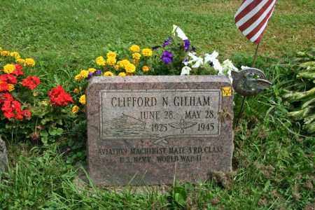 GILHAM, CLIFFORD N - Portage County, Ohio | CLIFFORD N GILHAM - Ohio Gravestone Photos