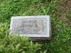 GILHAM, JENNIE R - Portage County, Ohio | JENNIE R GILHAM - Ohio Gravestone Photos