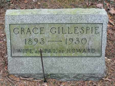 KARRER GILLESPIE, GRACE - Portage County, Ohio | GRACE KARRER GILLESPIE - Ohio Gravestone Photos