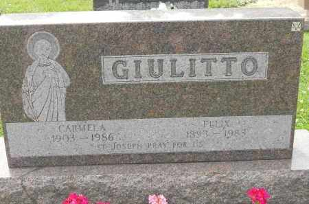 GIULITTO, FELIX - Portage County, Ohio | FELIX GIULITTO - Ohio Gravestone Photos
