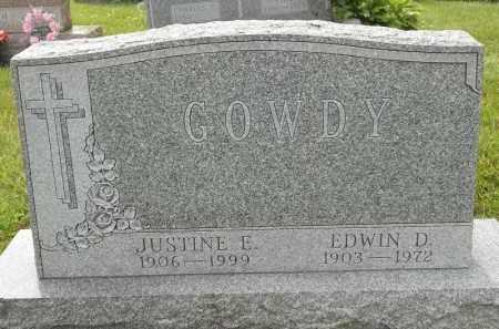 GOWDY, EDWIN D - Portage County, Ohio | EDWIN D GOWDY - Ohio Gravestone Photos