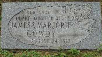 GOWDY, INFANT DAUGHTER - Portage County, Ohio | INFANT DAUGHTER GOWDY - Ohio Gravestone Photos