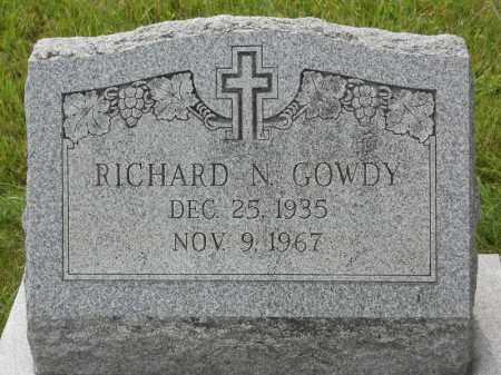 GOWDY, RICHARD N - Portage County, Ohio | RICHARD N GOWDY - Ohio Gravestone Photos