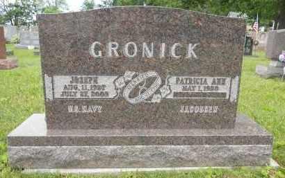 GRONICK, JOSEPH - Portage County, Ohio | JOSEPH GRONICK - Ohio Gravestone Photos
