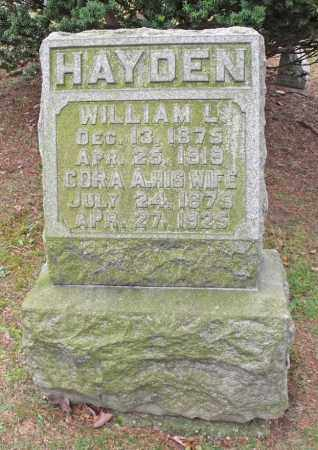 HAYDEN, CORA - Portage County, Ohio | CORA HAYDEN - Ohio Gravestone Photos