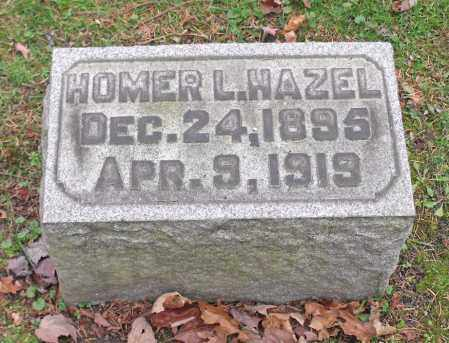 HAZEL, HOMER L. - Portage County, Ohio | HOMER L. HAZEL - Ohio Gravestone Photos