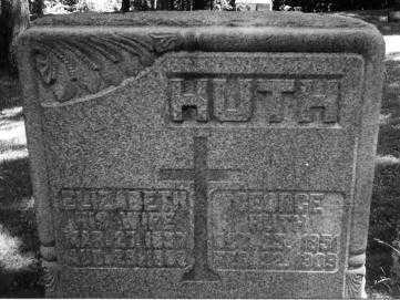 LANG HUTH, ELIZABETH - Portage County, Ohio | ELIZABETH LANG HUTH - Ohio Gravestone Photos