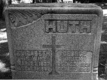 HUTH, GEORGE - Portage County, Ohio | GEORGE HUTH - Ohio Gravestone Photos