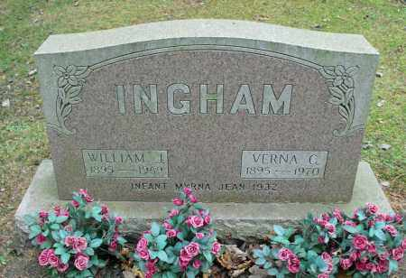 INGHAM, MYRNA JEAN - Portage County, Ohio | MYRNA JEAN INGHAM - Ohio Gravestone Photos