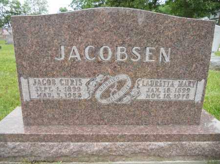 JACOBSEN, LAURETTA MARY - Portage County, Ohio | LAURETTA MARY JACOBSEN - Ohio Gravestone Photos