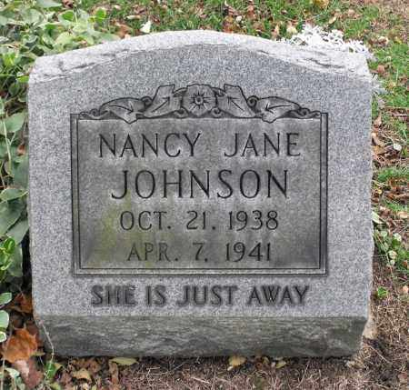JOHNSON, NANCY JANE - Portage County, Ohio | NANCY JANE JOHNSON - Ohio Gravestone Photos