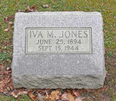 JONES, IVA MAY - Portage County, Ohio | IVA MAY JONES - Ohio Gravestone Photos