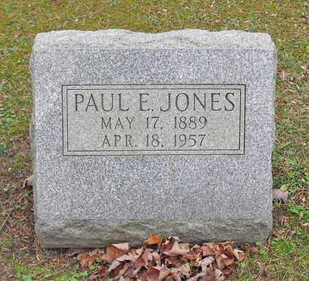 JONES, PAUL E. - Portage County, Ohio | PAUL E. JONES - Ohio Gravestone Photos
