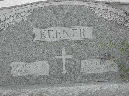 KEENER, SOPHIA J - Portage County, Ohio | SOPHIA J KEENER - Ohio Gravestone Photos