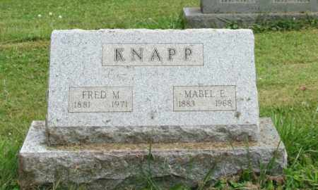 KNAPP, MABEL E - Portage County, Ohio | MABEL E KNAPP - Ohio Gravestone Photos