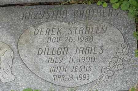 KRZYSTAN, DEREK STANLEY - Portage County, Ohio | DEREK STANLEY KRZYSTAN - Ohio Gravestone Photos