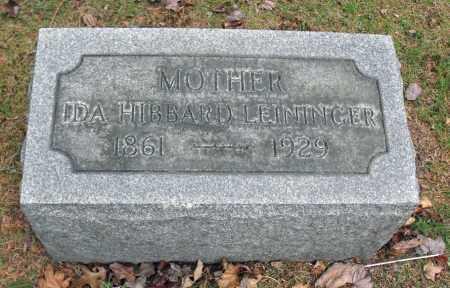 LEININGER, IDA - Portage County, Ohio | IDA LEININGER - Ohio Gravestone Photos