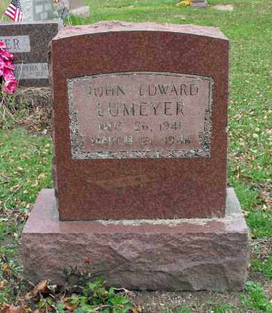 LUMEYER, JOHN EDWARD - Portage County, Ohio | JOHN EDWARD LUMEYER - Ohio Gravestone Photos