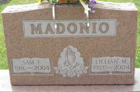 MADONIO, LILLIAN M - Portage County, Ohio | LILLIAN M MADONIO - Ohio Gravestone Photos