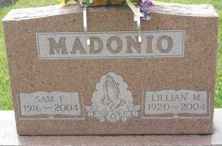 MADONIO, SAM F - Portage County, Ohio | SAM F MADONIO - Ohio Gravestone Photos