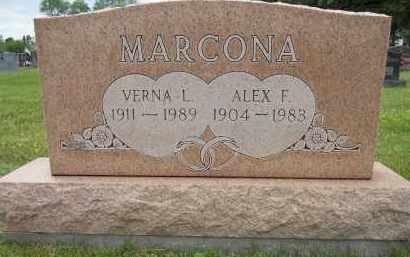 MARCONA, ALEX F - Portage County, Ohio | ALEX F MARCONA - Ohio Gravestone Photos