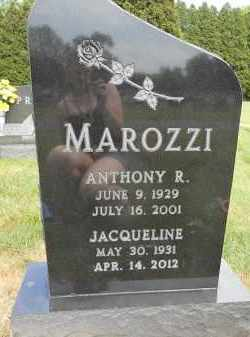 MAROZZI, ANTHONY R - Portage County, Ohio | ANTHONY R MAROZZI - Ohio Gravestone Photos