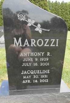 MAROZZI, JACQUELINE - Portage County, Ohio | JACQUELINE MAROZZI - Ohio Gravestone Photos
