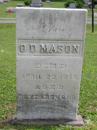 MASON, O. D. - Portage County, Ohio | O. D. MASON - Ohio Gravestone Photos