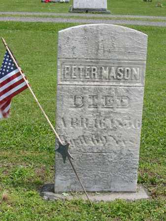 MASON, PETER - Portage County, Ohio | PETER MASON - Ohio Gravestone Photos