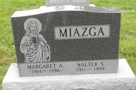 MIAZGA, WALTER S - Portage County, Ohio | WALTER S MIAZGA - Ohio Gravestone Photos