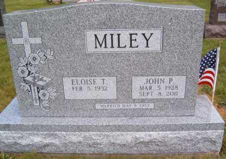 MILEY, JOHN P - Portage County, Ohio | JOHN P MILEY - Ohio Gravestone Photos