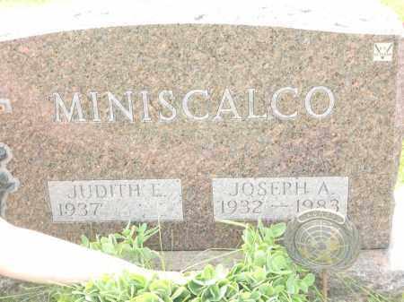 MINISCALCO, JOSEPH A - Portage County, Ohio | JOSEPH A MINISCALCO - Ohio Gravestone Photos