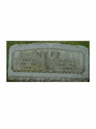 PFILE NEFF, MYRTLE - Portage County, Ohio | MYRTLE PFILE NEFF - Ohio Gravestone Photos