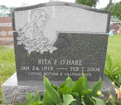 TALLON O'HARE, RITA FRANCES - Portage County, Ohio | RITA FRANCES TALLON O'HARE - Ohio Gravestone Photos