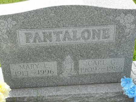 PANTALONE, CARL G - Portage County, Ohio | CARL G PANTALONE - Ohio Gravestone Photos