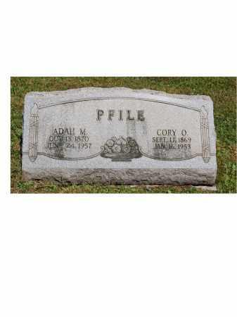 PFILE, ADAH M. - Portage County, Ohio | ADAH M. PFILE - Ohio Gravestone Photos