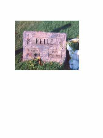 PFILE, BLANCHE - Portage County, Ohio | BLANCHE PFILE - Ohio Gravestone Photos