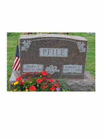 PFILE, ROBERT C - Portage County, Ohio | ROBERT C PFILE - Ohio Gravestone Photos