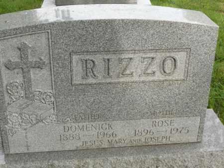 RIZZO, DOMENICK - Portage County, Ohio | DOMENICK RIZZO - Ohio Gravestone Photos