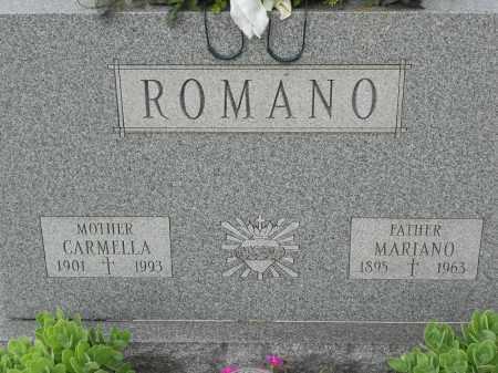 ROMANO, CARMELLA - Portage County, Ohio | CARMELLA ROMANO - Ohio Gravestone Photos