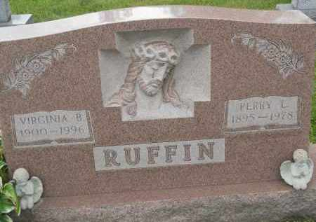 RUFFIN, PERRY L - Portage County, Ohio | PERRY L RUFFIN - Ohio Gravestone Photos